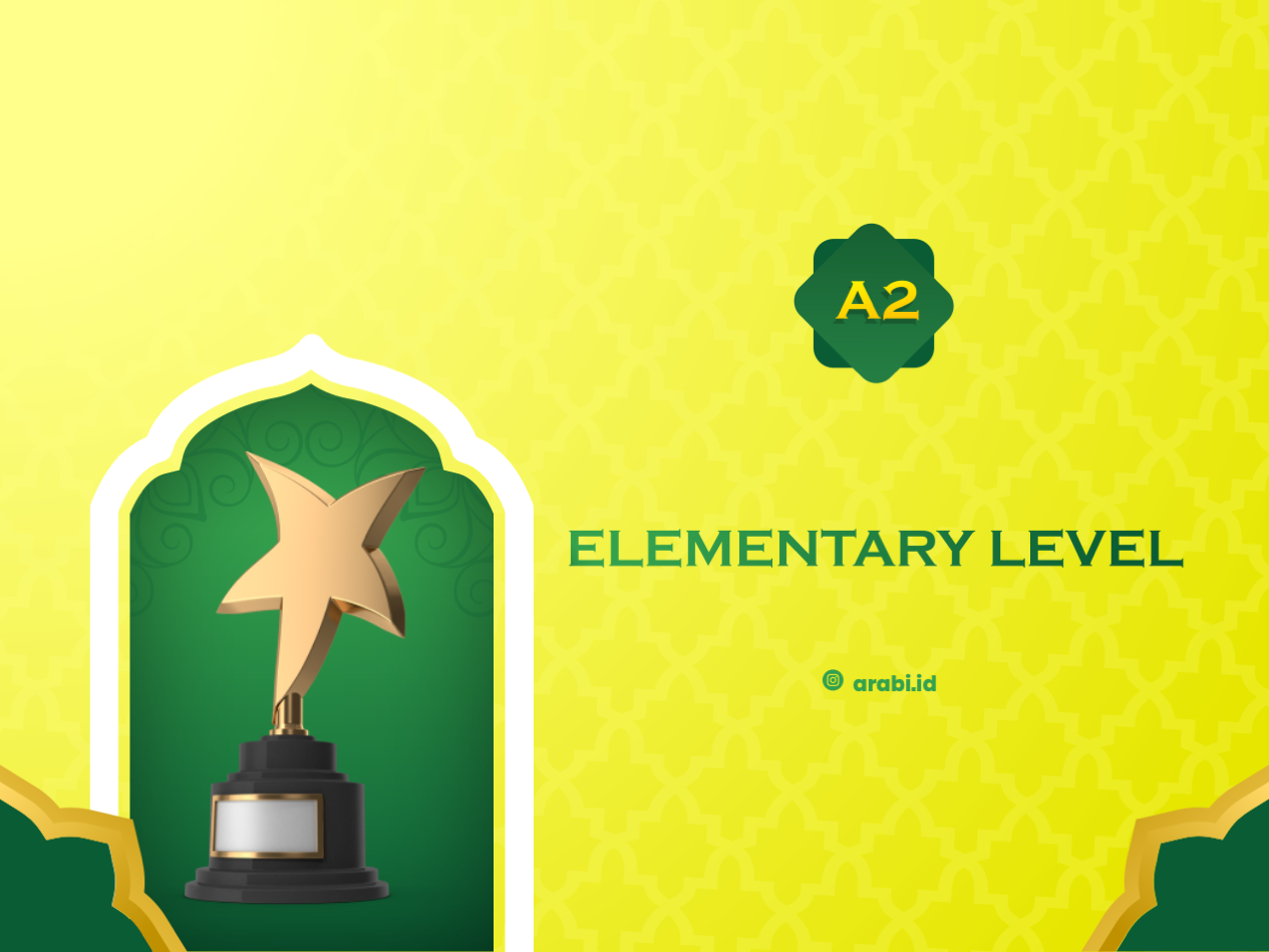 Test for Elementary Level (A2)